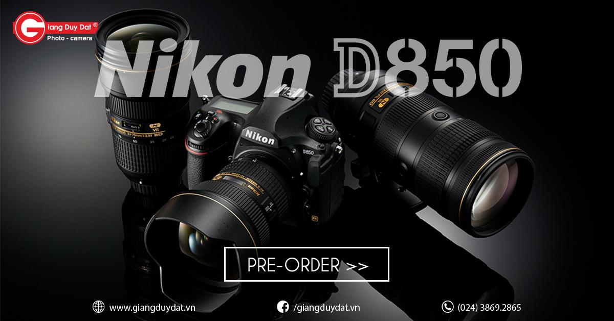 đặt hàng Nikon D850