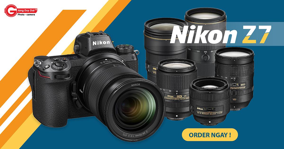Đặt Hàng Nikon Z7