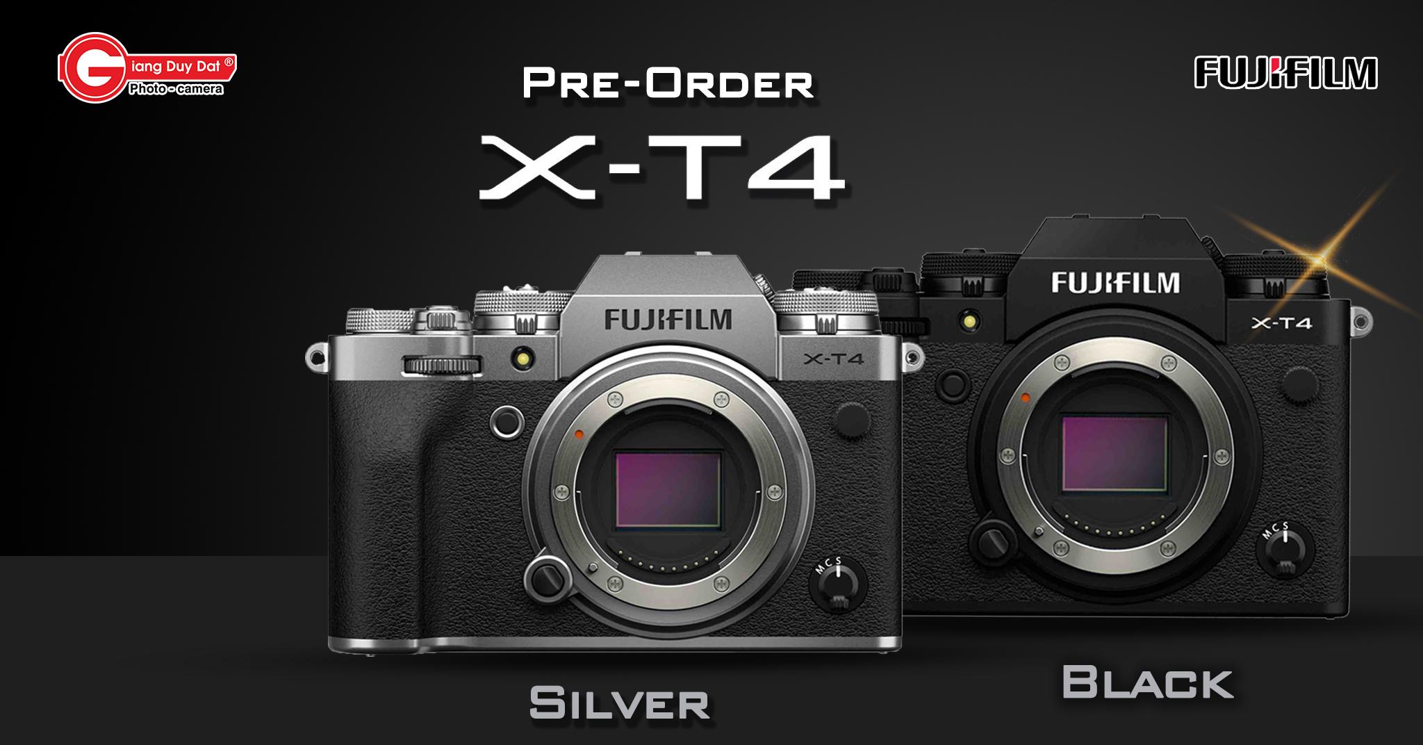 order X-T4