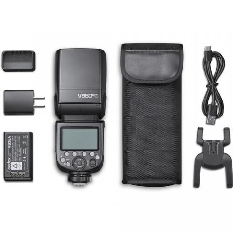 Den flash the he moi Godox V860 III (Mark 3) cho Canon, Nikon, Sony, Fujifilm voi nhieu tinh nang cai tien