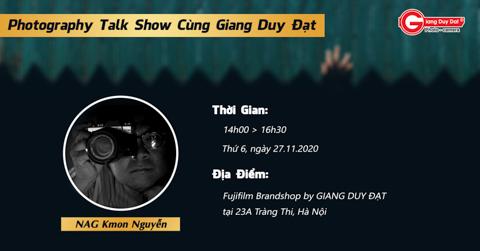 Giang Duy Dat photography talk show tai Ha Noi