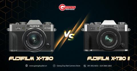 So sanh Fujifilm X-T30 va X-T30 II: Co nhung su nang cap dang ke nao ?