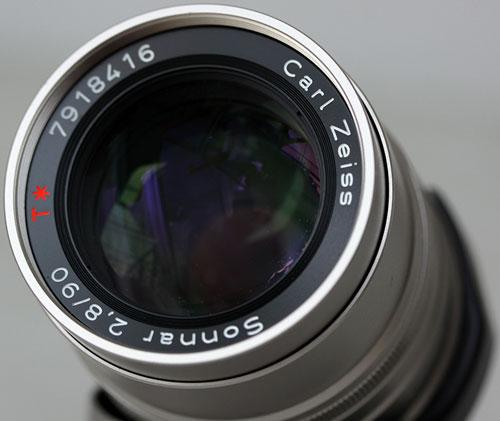 Contax 90mm f2.8 Carl Zeiss Sonnar T*