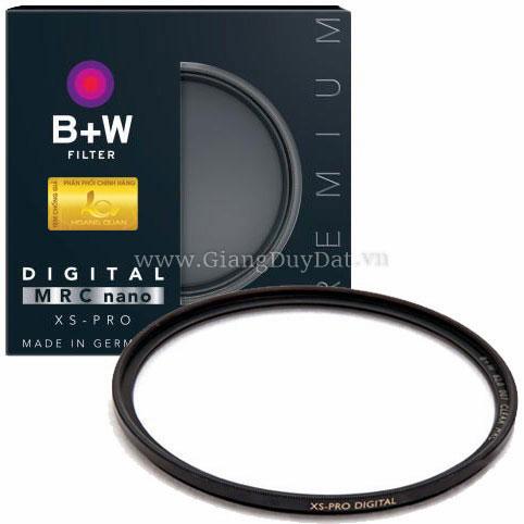 Kính lọc B+W 62mm XS-Pro UV MRC-Nano (chính hãng)