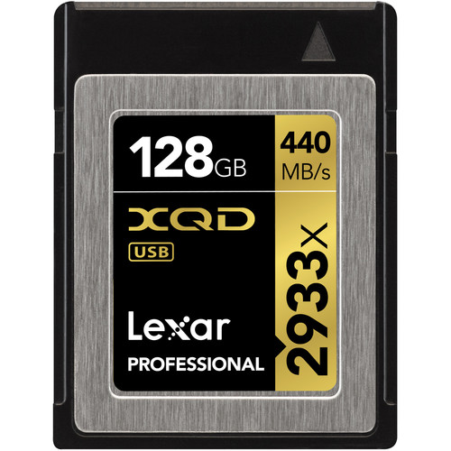 Lexar 128GB 2933x XQD 2.0 (chính hãng)