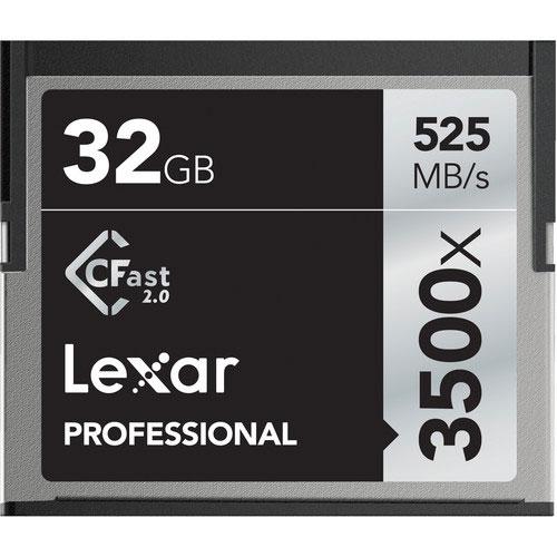 Lexar 32GB Professional 3500x CFast 2.0 (chính hãng)