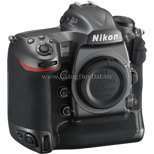 Nikon D5 DSLR Camera 100th Anniversary Edition