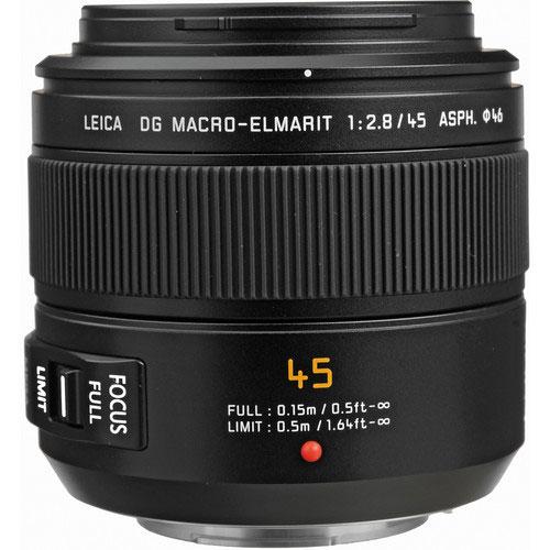 Panasonic Leica DG Macro-Elmarit 45mm f/2.8 ASPH