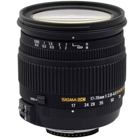 Sigma 17-70mm f/2.8-4.5 DC Macro For Nikon