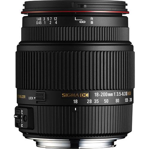 Sigma 18-200mm f3.5-6.3 DC Macro OS HSM for Nikon