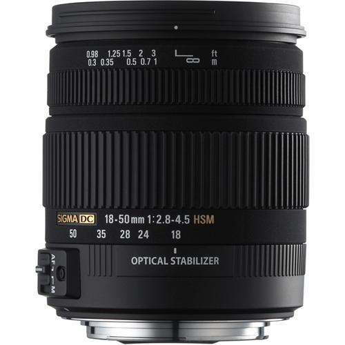 Sigma 18-50mm f/2.8-4.5 DC OS HSM for Canon