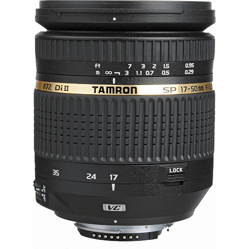 Tamron SP AF 17-50mm f2.8 XR Di-II VC for Canon