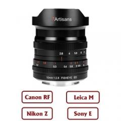 7Artisans 10mm f/2.8 Fisheye