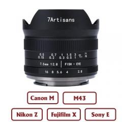 7Artisans 7.5mm f/2.8 II Fisheye