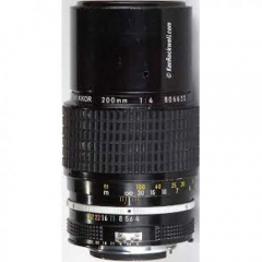 AI-S Nikkor 200mm f/4