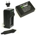Bộ pin sạc Li-ion cho Canon LP-E17 dùng cho Canon EOS 750D 760D 8000D