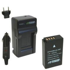Bộ pin sạc Li-on cho Nikon EN-EL20 và Blackmagic
