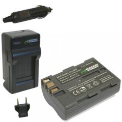 Bộ pin sạc Nikon D50 D70 D70S D80 D90 D100 D200 D300 D300S D700