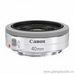 Canon EF 40mm f2.8 STM White
