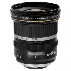 Canon EFs 10-22mm f3.5-4.5 USM