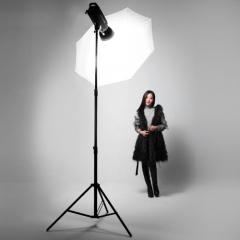 Chân đèn Studio 2m9 - có hơi