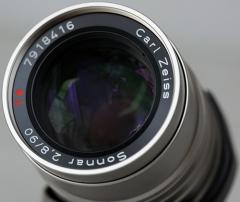 Contax 90mm f/2.8 Carl Zeiss Sonnar T*