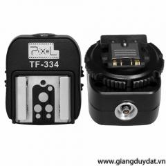 Đầu chuyển đổi đèn flash Pixel TF-334 for Sony Alpha