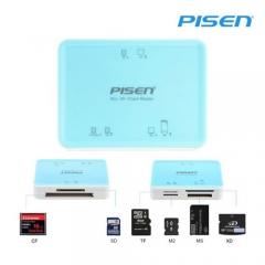 Đầu đọc thẻ Pisen All-in-1 USB 2.0 (6Slot) (Chính hãng)