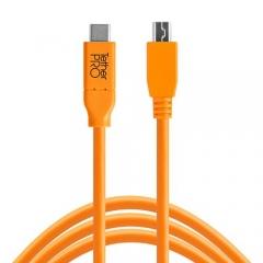 Dây Tether Tools - TetherPro USB-C to 2.0 Micro-B 5-Pin - Dài 4.6m