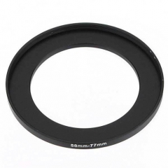 Filter Adapter Ring 58mm-77mm