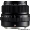 Fujifilm GF 63mm f/2.8 R WR (chính hãng)