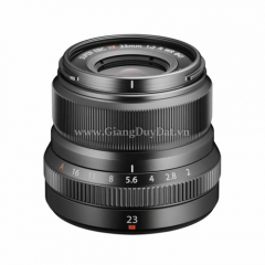 Fujinon XF 23mm f/2 Graphite Silver Edition