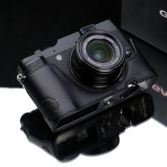 Gariz Halfcase Fujifilm X10 (Black - chính hãng)