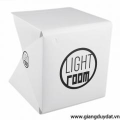 Hộp chụp sản phẩm tích hợp đèn LED LIGHTROOM 25x25