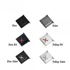 Hotshoe Kim Loại - Khắc Chữ X