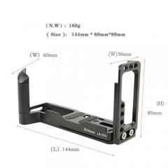 L-plate cho máy ảnh Fujifilm X-T4