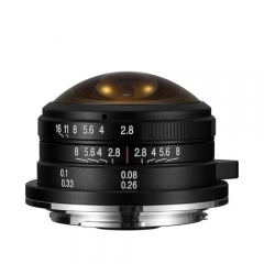 Laowa 4mm f/2.8 Circular Fisheye