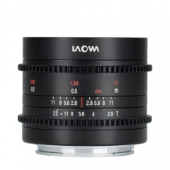 Laowa 9mm t/2.9 Zero-D Cine