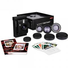 Máy ảnh Lomography Lomo Instant + 3 lens (Đen/Trắng) (Chính hãng)