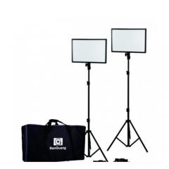 NANLite- Đèn Led nhiếp ảnh Luxpad 43H 2Kit with Power Adapter (FNK01)