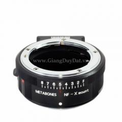 Ngàm Metabones Nikon G Lens to Fujifilm X-Mount