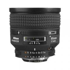 Nikkor AF 85mm f/1.4D IF