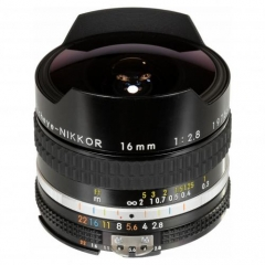 Nikkor Fisheye 16mm f/2.8 Ai-S