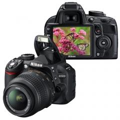 Nikon D3100 with kit 18-55 VR