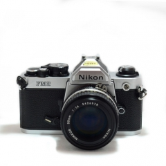 Nikon FM2 Silver with AI 50mm F/1.4