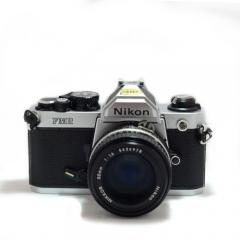 Nikon FM2 Silver with AI 50mm f/1.4