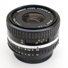 Nikon Series E lenses 35mm f2.5