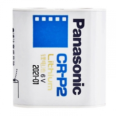 Panasonic CR-P2 6V Photo Lithium Battery