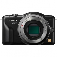 Panasonic Lumix DMC-GF3 Body (Black)