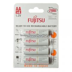 Pin Sạc AA FUJITSU 1900mAh Made in Japan (chính hãng)